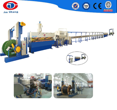 Cable sheath production line