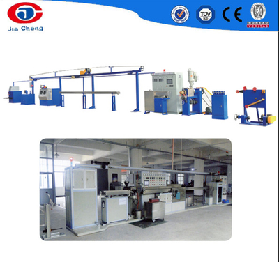 Extremely fine teflon cable extrusion production line